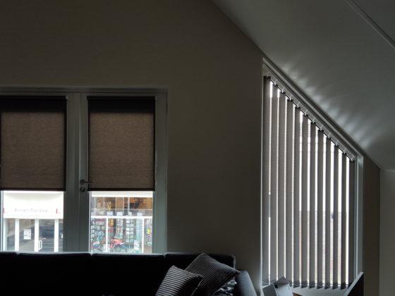 Lamellen schuilopend raam