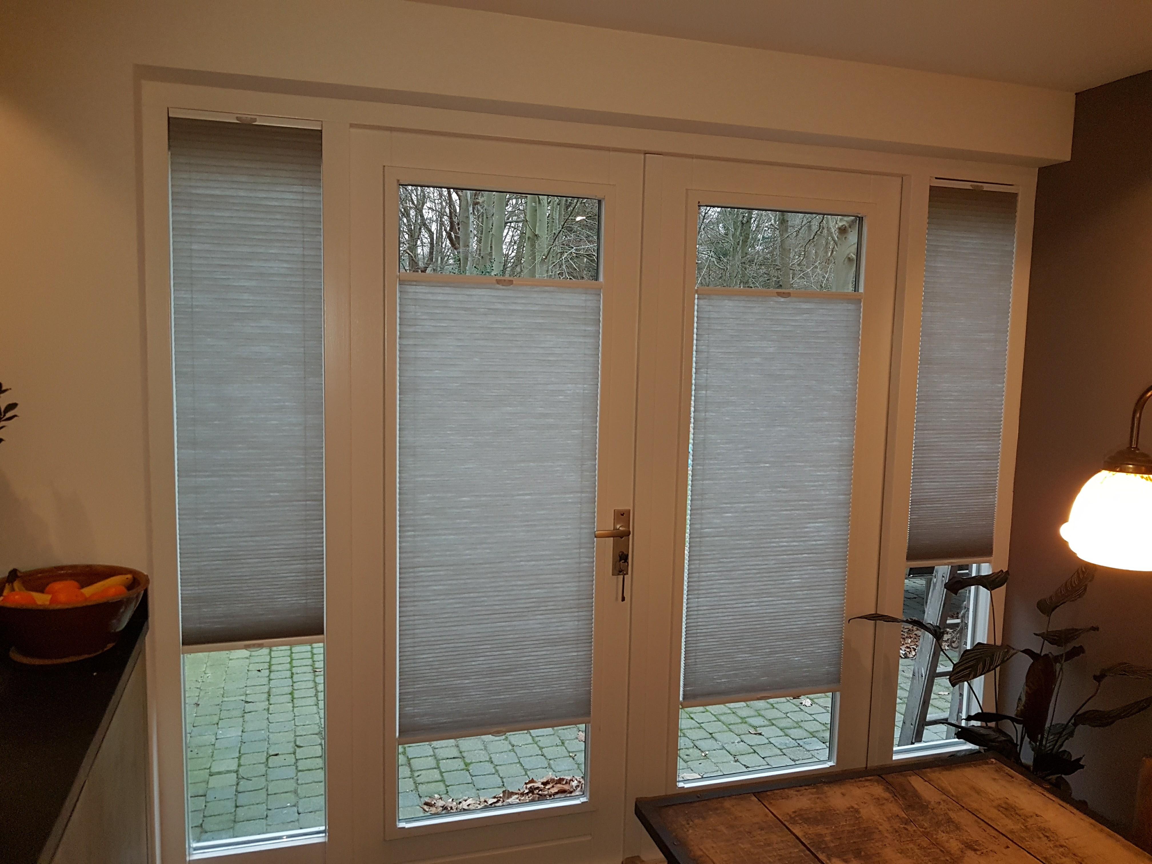 Raamdecoratie Openslaande Deuren : Vaak raamdecoratie openslaande tuindeuren #bss06 agneswamu